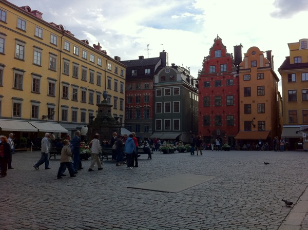 Gamla Stan town square