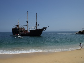 Pirate ship adventure in Puerto Vallarta