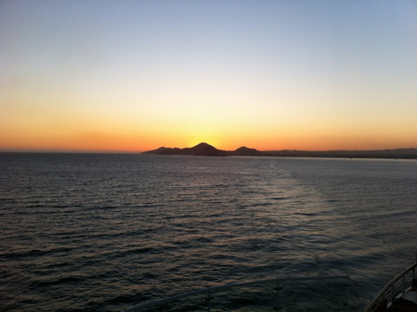 Sunset over Cabo